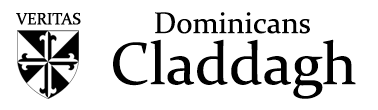 Dominican's Church, Claddagh, Galway Logo